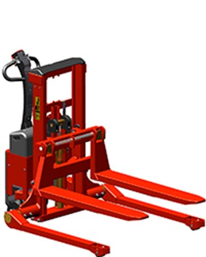 Stackers, Fully powered Logiflex Mini - straddle legs (SELFS MINI)